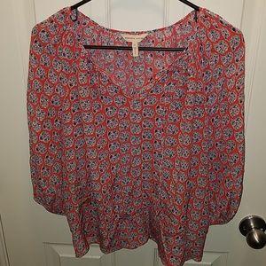 Rebecca Taylor boho blouse